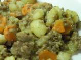 Hamburger Hotdish With Potatoes & Carrots