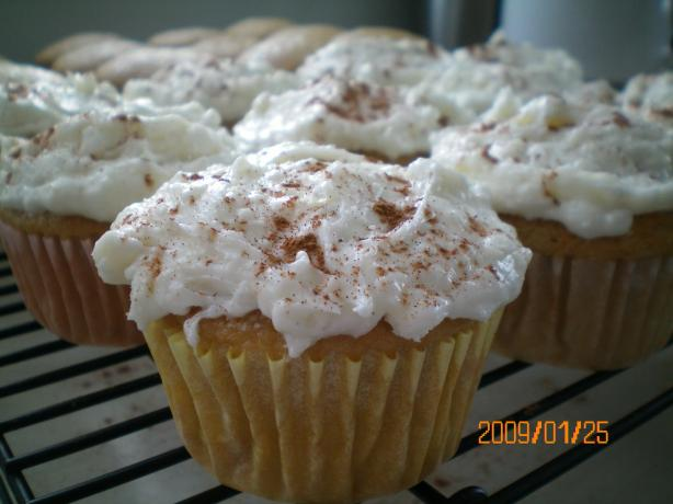 Chai Latte Cupcakes (From Betty Crocker). Photo by CoffeeB