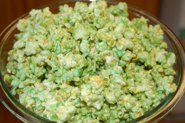 St. Patrick's Day Popcorn. Photo by sydsmama