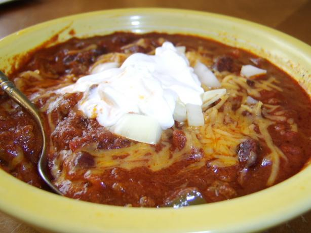 Chili With a Twist. Photo by LifeIsGood