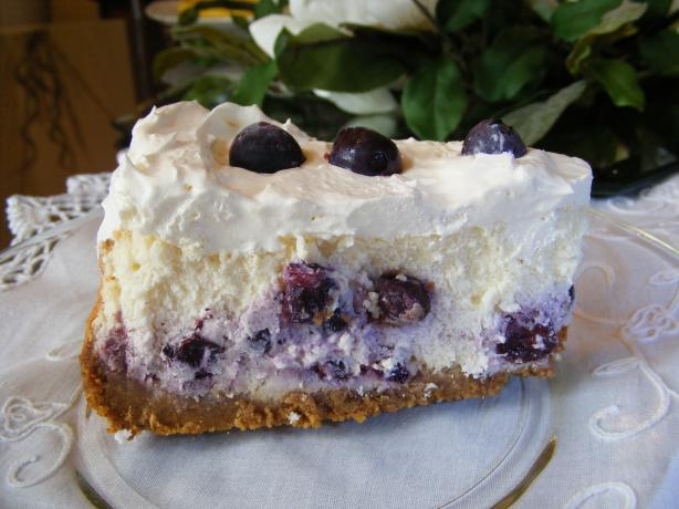 The Best Blueberry Cheesecake. Photo by Seasoned Cook