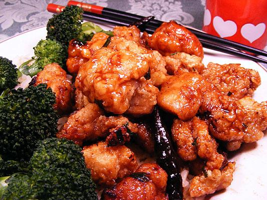 General Tso's Chicken (Tso Chung Gai). Photo by Lavender Lynn