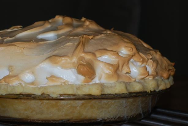 Blue Ribbon Mile High Lemon Meringue Pie. Photo by Katzen
