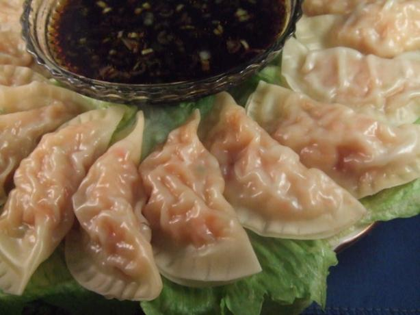 Shrimp Pot Stickers (Dumplings). Photo by Vseward (Chef~V)