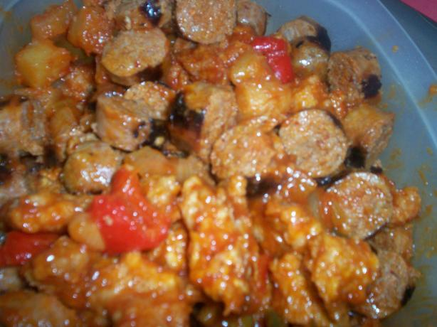 Sweet N Sour Spicy Sausage. Photo by *Ken*