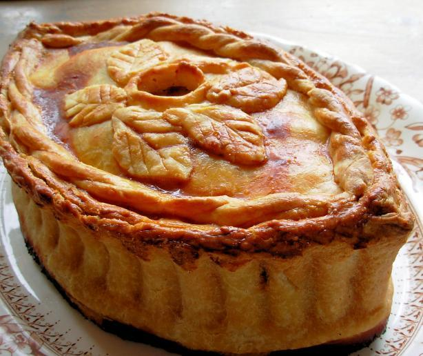 Pies Simple Simon Met A Pieman Raised Chicken And Ham Pie
