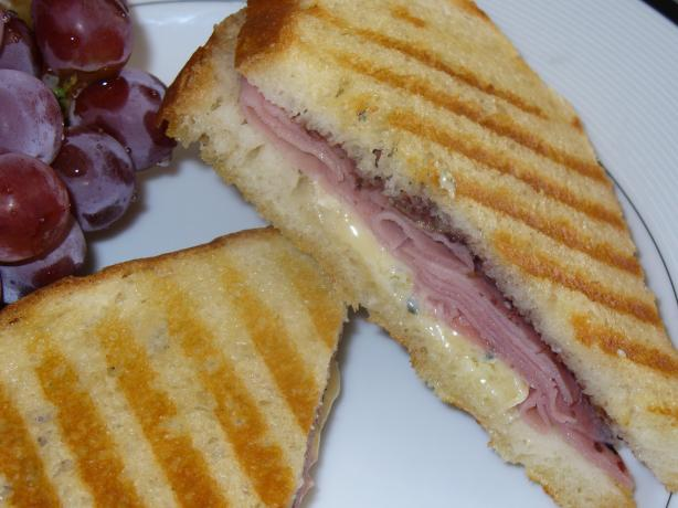 Ham and Brie Panini (Sandwich). Photo by IngridH