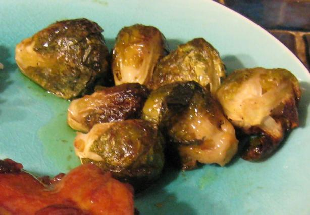 Roasted Brussels Sprouts. Photo by breezermom