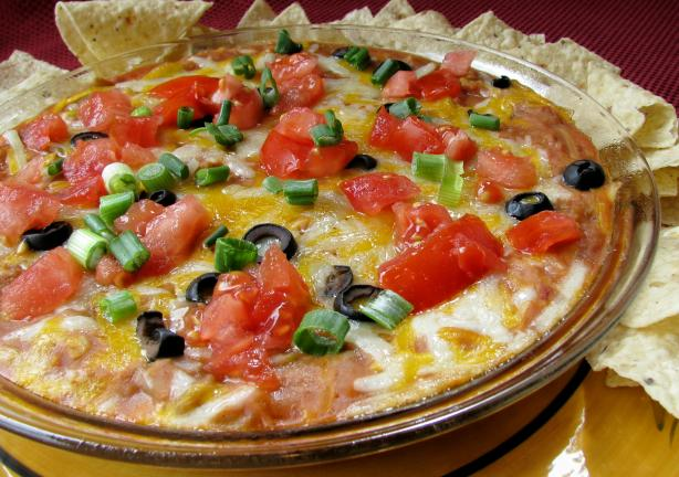 Mexican Mess (Bean Dip). Photo by lazyme