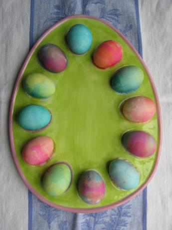 Tie-Dye Easter Eggs. Photo by Chef #1235334