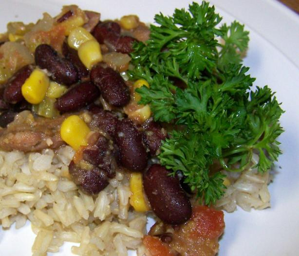 Aunt Nancy&#39;s Cajun Rice and Beans. Photo by Sweet Diva