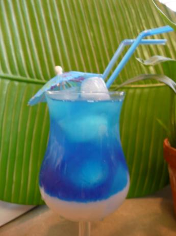 Blue Dream Cocktail. Photo by cookiedog