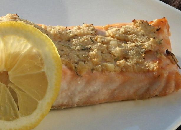Horseradish Baked Salmon. Photo by AmandaInOz