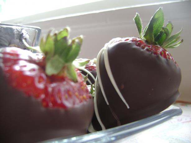 Chocolate-Covered Strawberries. Photo by heybrother