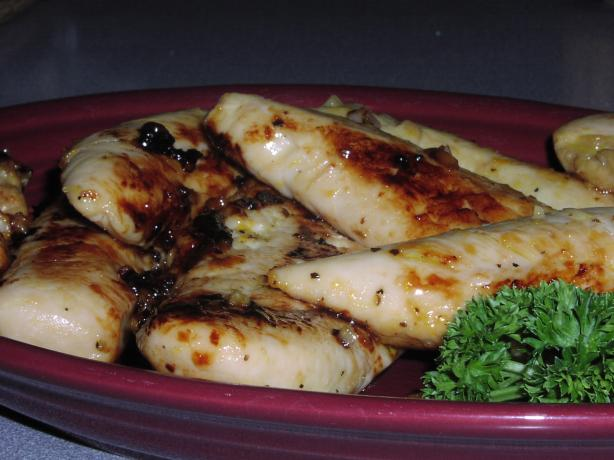 Pvw's Garlic Citrus Chicken. Photo by TeresaS
