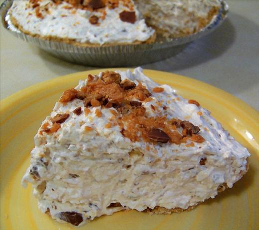 Butterfinger Pie. Photo by Bobtail
