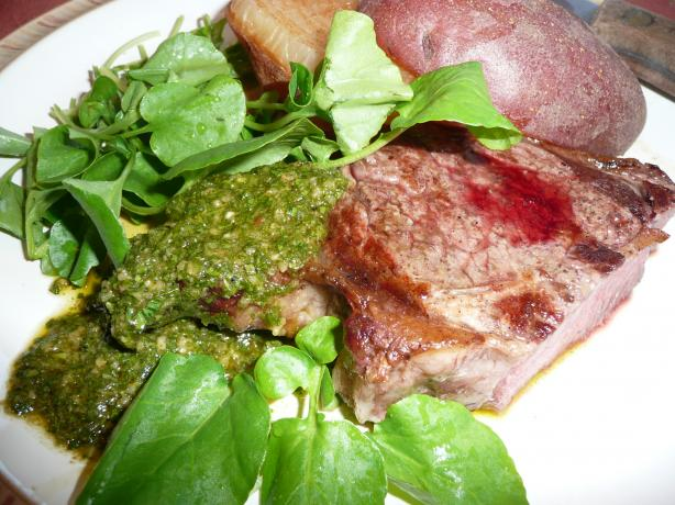Cool Jazz and Hot to Trot South American Chimichurri Steak!. Photo by CaliforniaJan