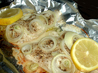 Easy Baked Fish. Recipe by MizzNezz