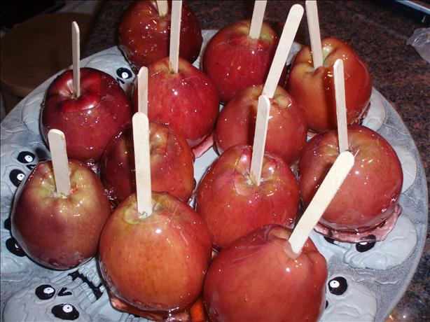 Candy Apples. Photo by Kiwiwife