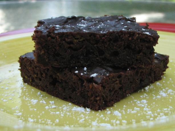 Zucchini Brownies. Photo by Brooke the Cook in WI