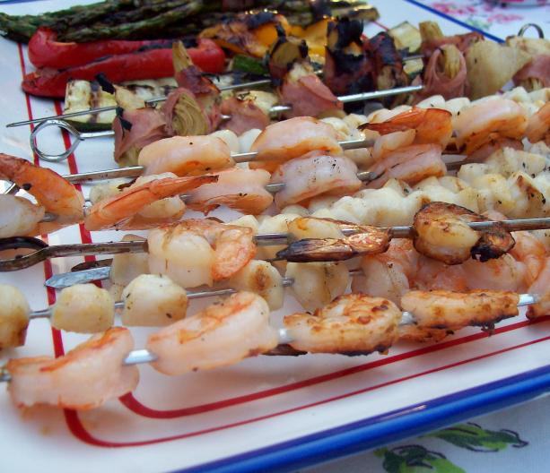 Easy Grilled Antipasto Platter. Photo by little_wing