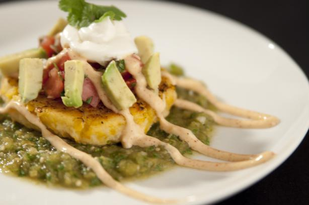 Sweet Corn Tamale Cakes. Photo by Chef #1539485