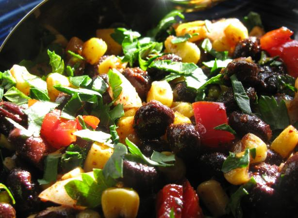 Corn and Black Bean Salad. Photo by iris5555