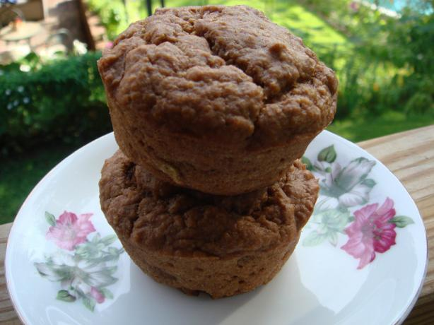 Banana-Wheat Germ Muffins (Vegan). Photo by Xanthia