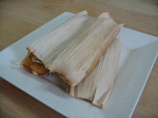 Vegetarian Tamales. Photo by Enjolinfam