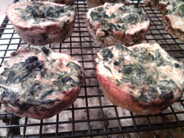 Weight Watchers OAMC Spinach Egg Cups to Go. Photo by enigma256