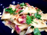 Pappardelle With Artichokes and Sun-Dried Tomatoes