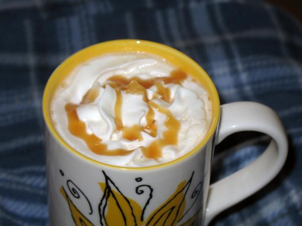 Caramel Macchiato Coffee Chez Kathy. Photo by Acadia*