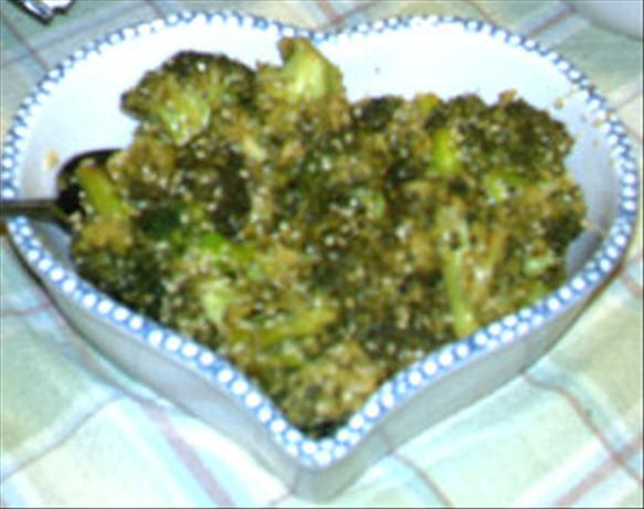 Roasted Broccoli Sesame Salad. Photo by Karen=^..^=