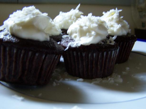Organic Chocolate Cupcakes. Photo by Chef Jean