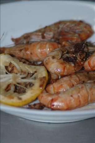 Garlic Shrimp. Photo by Ingy