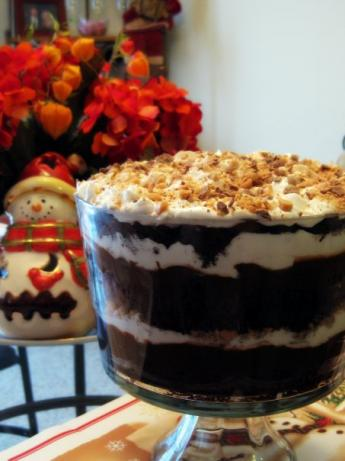 Kahlua Chocolate Trifle. Photo by *Huntergirl*