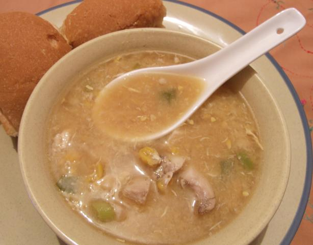 Chicken &amp; Sweet Corn Soup