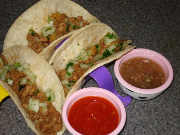 Tacos Al Pastor. Photo by Muffin Goddess