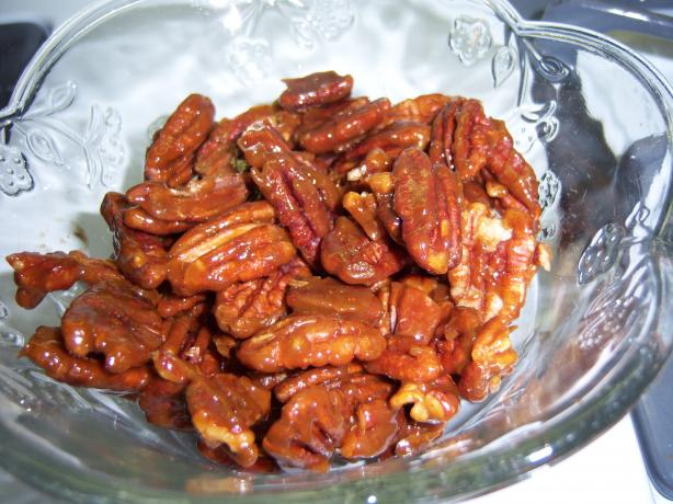 Glazed Pecans. Photo by SrtaMaestra