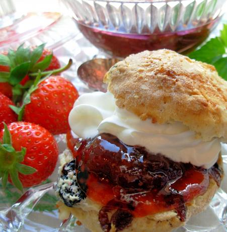 Traditional Devon Cream Tea Strawberry Jam - Strawberry Conserve. Photo by French Tart