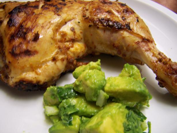 Chipotle Grilled Chicken With Avocado Salsa. Photo by CarolAT