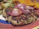 Thai Inspired Turkey Burgers (Low Fat)