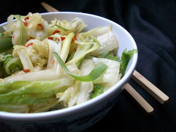 Korean Cabbage Kimchi. Photo by 2Bleu