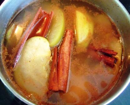 Apple Cinnamon Crock Pot Potpourri. Photo by HokiesMom