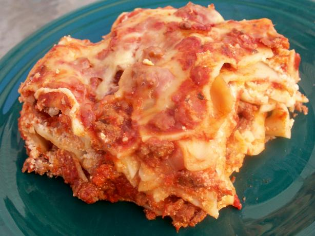 Crock Pot Lasagna. Photo by *Parsley*