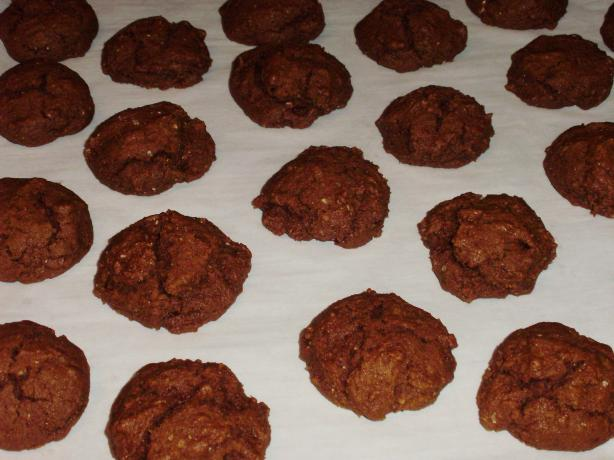 Delicious Low-Fat Ginger Molasses Cookies (Healthy!). Photo by I Can't Believe It's Healthy
