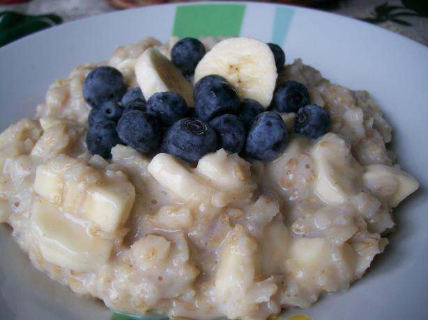 Sunday Morning Oatmeal--Barefoot Contessa Ina Garten. Photo by Crafty Lady 13