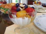 Fruit Yogurt Compote or Parfait