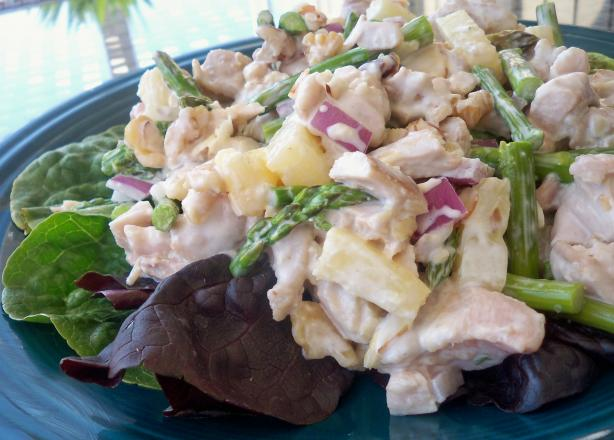 Spring Asparagus Chicken Salad. Photo by *Parsley*