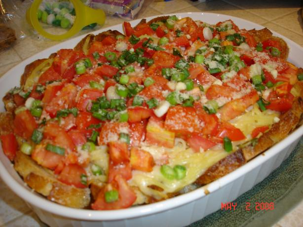 Italian Pasta Pie. Photo by Chef #801438